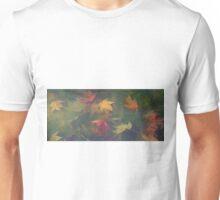 Leaves Underwater Banner Unisex T-Shirt