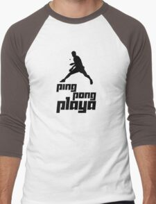 Ping Pong Playa Men's Baseball ¾ T-Shirt