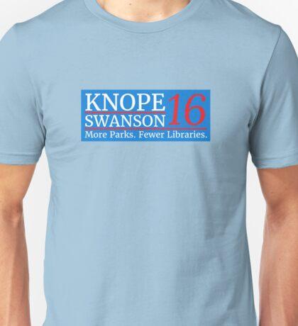 Vote Knope Swanson 2016 Unisex T-Shirt