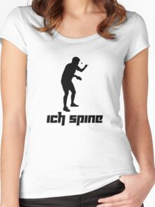 Ich spine Women's Fitted Scoop T-Shirt
