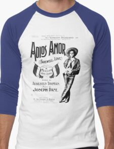 Adios Amor Men's Baseball ¾ T-Shirt
