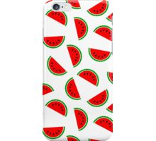 Red Watermelons Everywhere iPhone Case/Skin