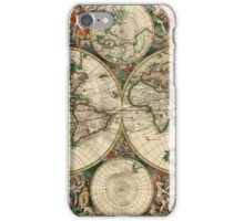 Vintage Ancient World Map iPhone Case/Skin