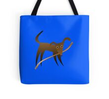 Dog & Stick Tote Bag