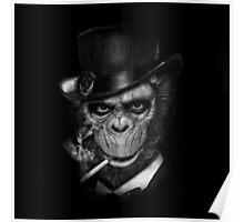 Gentleman Ape Poster