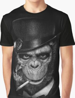 Gentleman Ape Graphic T-Shirt