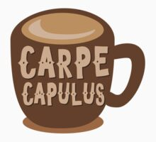 CARPE CAPULUS (Seize the COFFEE) Kids Tee