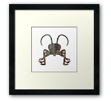 Insect Texture Outline 3 Framed Print