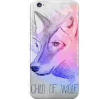 Wolf - First Aid Kit iPhone Case/Skin