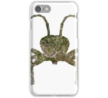 Fight Insect Texture Outline iPhone Case/Skin