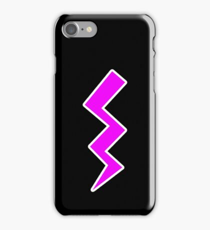 Pink Lightning iPhone Case/Skin