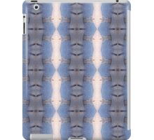 Abstract Blue Pattern iPad Case/Skin