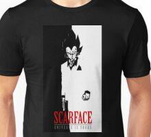 VEGETA SCARFACE Unisex T-Shirt