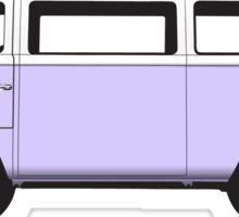 Tin Top Early Bay standard lilac white Sticker