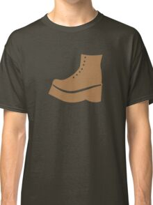 A brown boot shoe Classic T-Shirt