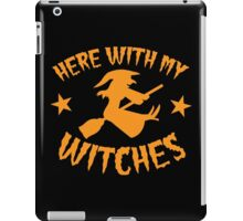 Here with my WITCHES awesome HALLOWEEN design iPad Case/Skin