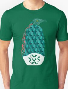 Abstract Penguin Unisex T-Shirt