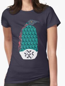 Abstract Penguin Womens Fitted T-Shirt