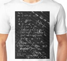 Geek Chic (white on black) Unisex T-Shirt