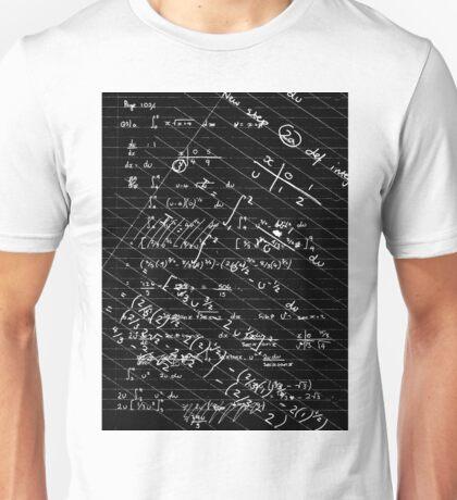 Geek Chic (white on black) Unisex T-Shirt
