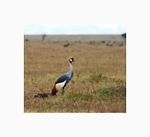Grey Crowned Crane on the Masai Mara Unisex T-Shirt