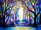 Enchantment - Trees by Linda Callaghan