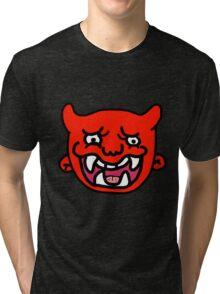 Red Demon Tri-blend T-Shirt