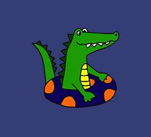 Cool Funny Alligator Tubing Unisex T-Shirt