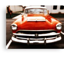 The Red Hornet  Canvas Print