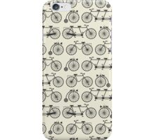 Retro bicycles iPhone Case/Skin