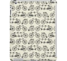 Retro bicycles iPad Case/Skin