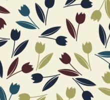 Decorative spring tulips Sticker