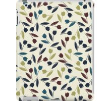 Decorative spring tulips iPad Case/Skin