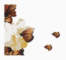 Monarch Blossom One Piece - Short Sleeve