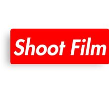 Shoot Film (Supreme Style) Canvas Print