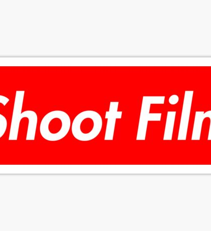 Shoot Film (Supreme Style) Sticker