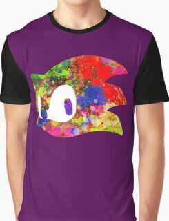 Sonic logo (painting) Graphic T-Shirt