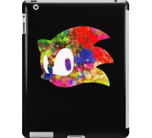 Sonic logo (painting) iPad Case/Skin