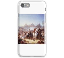 Thomas Jones Barker - The Relief of Lucknow iPhone Case/Skin