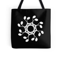 Semiquaver circle - inverted Tote Bag
