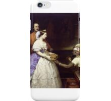 Thomas Jones Barker - The Secret of England's Greatness,  iPhone Case/Skin