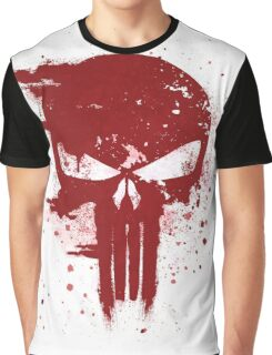 The Punisher Blood Graphic T-Shirt