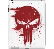 The Punisher Blood iPad Case/Skin