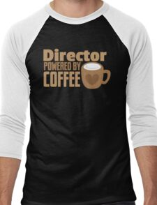Director powered by COFFEE Men's Baseball ¾ T-Shirt