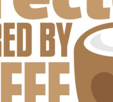 Director powered by COFFEE Sticker