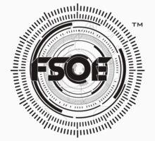 Future Sound Of Egypt FSOE Recordings  One Piece - Short Sleeve