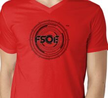 Future Sound Of Egypt FSOE Recordings  Mens V-Neck T-Shirt