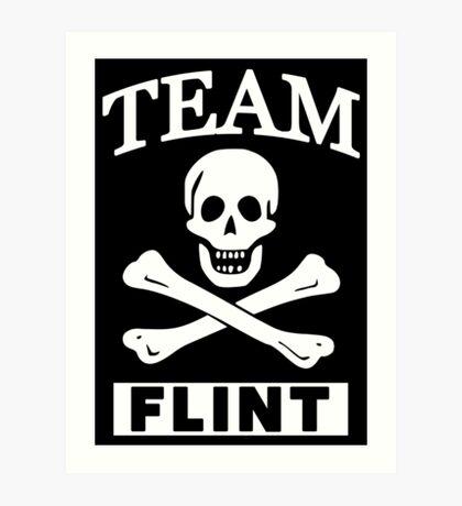 Team Flint Art Print
