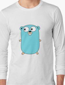 Go Language logo Long Sleeve T-Shirt
