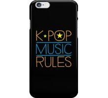 K-POP MUSIC RULES iPhone Case/Skin